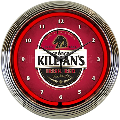 Neonetics Killians Irish Red Beer Neon Clock (Beer Neon Clock)
