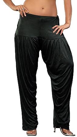 d41f63b285f8 Womens Baggy Harem Pants Patiala Bollywood Fashion India Clothing (Black):  Amazon.co.uk: Clothing