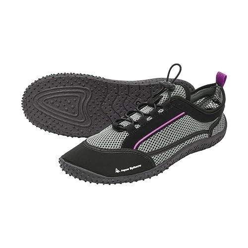 Amazon.com: Aqua Sphere Laguna zapatos de agua hembra: Shoes