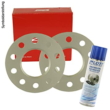 Bremsenreiniger H/&R DR Spurplatten Spurverbreiterung Distanzscheibe 5x120mm 10mm //// 2x5mm