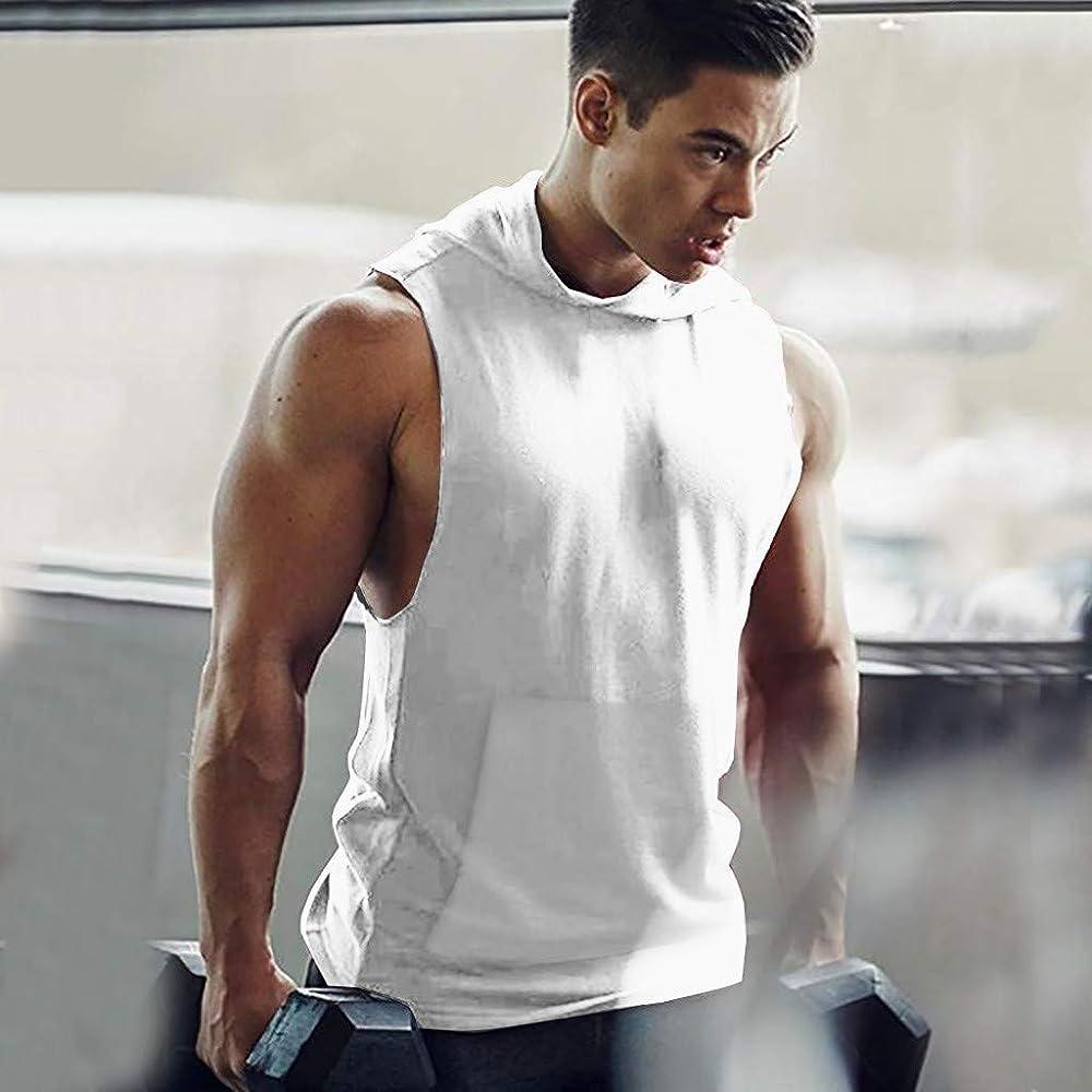 Camisas Sin Mangas para Hombres Camiseta De Tirantes Hombre Color Sólido Moda Camisetas Tirantes Hombre Gym Secado Apretado Camisas Slim Fit Hombre Camisetas Deporte Hombre Fitness Gimnasio: Amazon.es: Ropa y accesorios