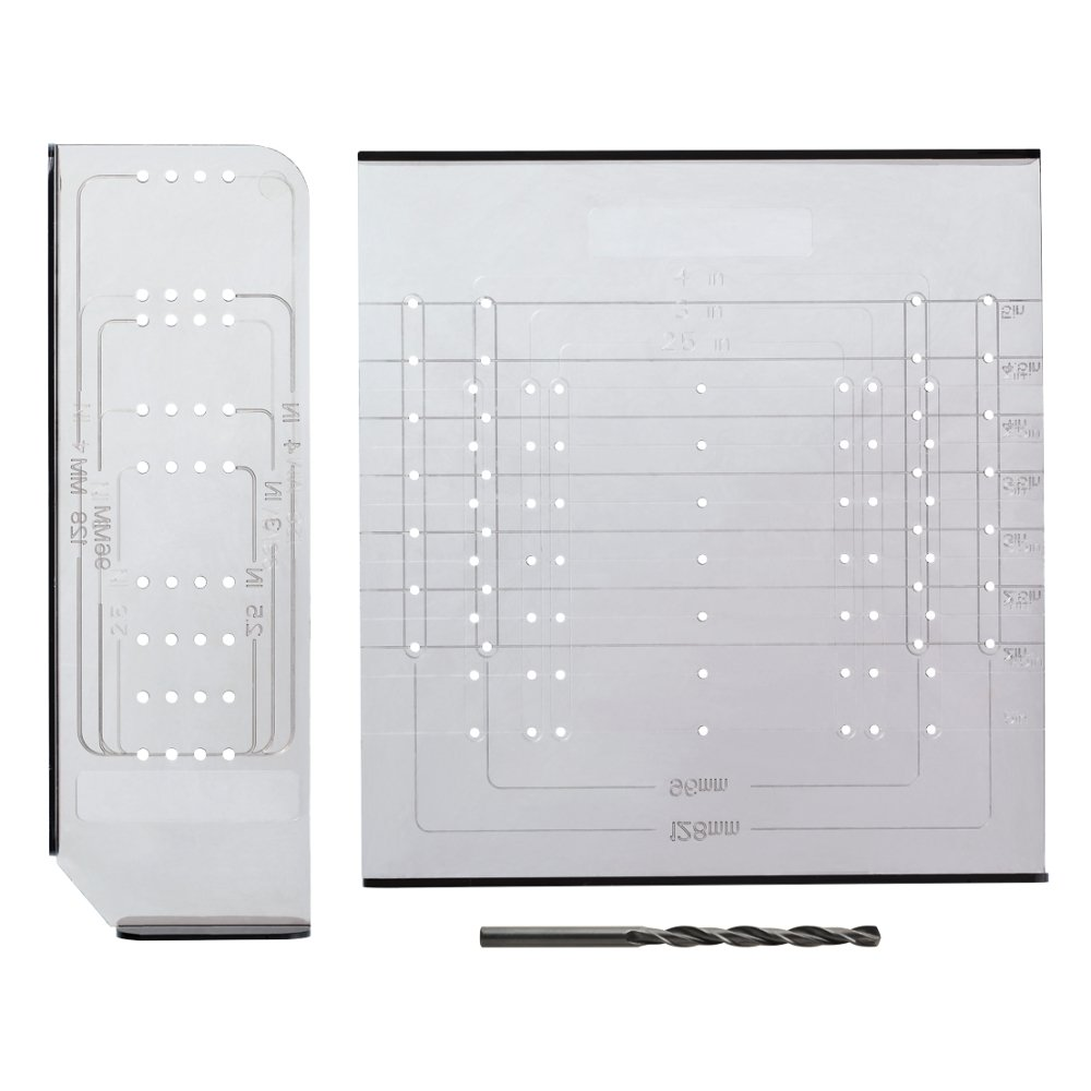 Liberty AN0251C CL U Alignright Cabinet Hardware Knob Pull Mounting Kit