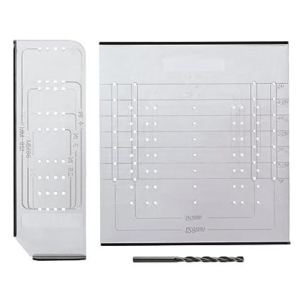 Merveilleux Liberty AN0251C CL U Alignright Cabinet Hardware Knob/Pull Mounting Kit