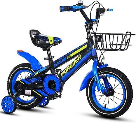 Xiaoping Bicicletas for niños, Bicicleta Niño, de 16 Pulgadas, indicado for 4-8 Años de Edad Boy (Color : 2): Amazon.es: Deportes y aire libre
