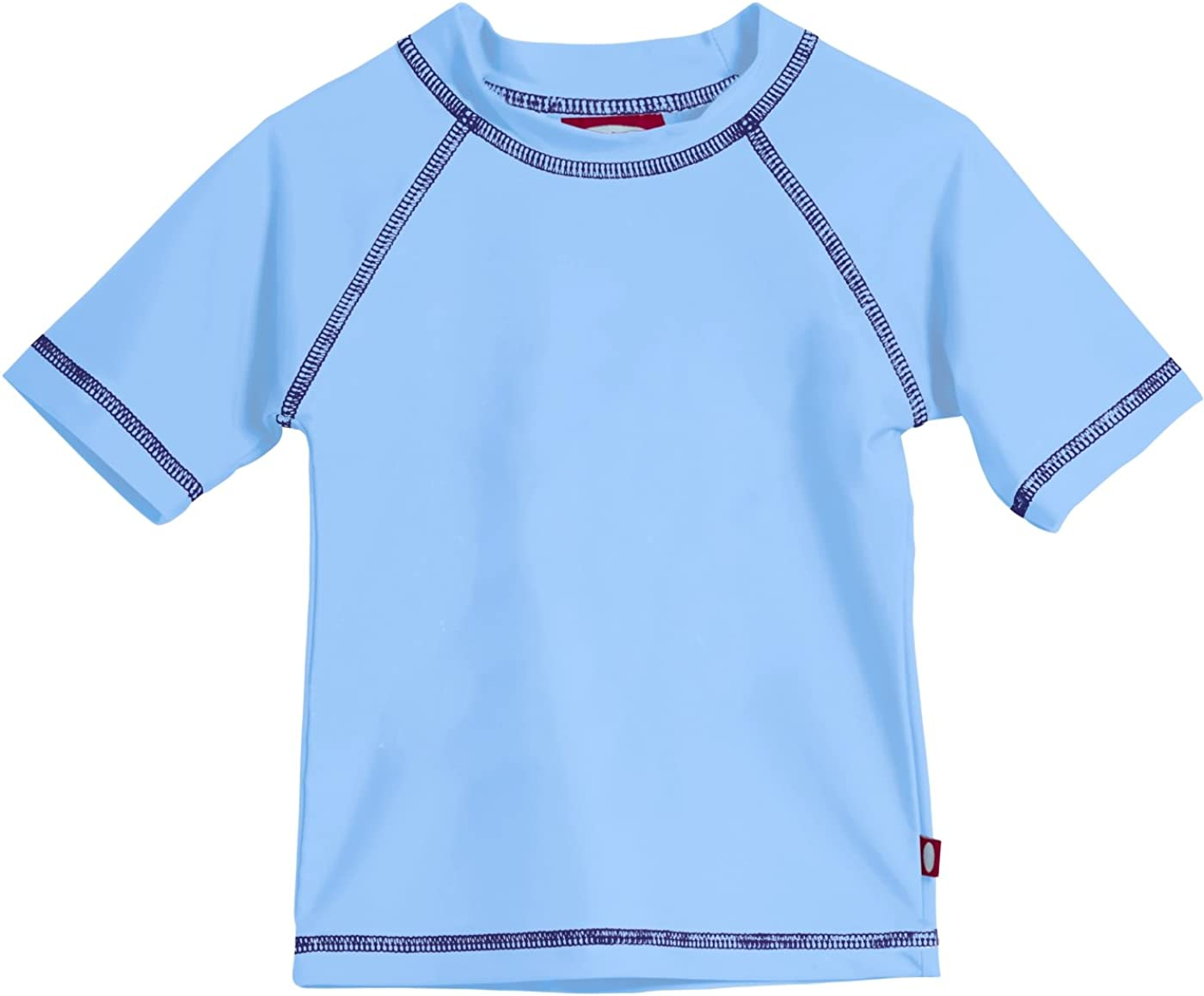 Made in USA City Threads Baby Rash Guard in Long and Short Sleeves with SPF50