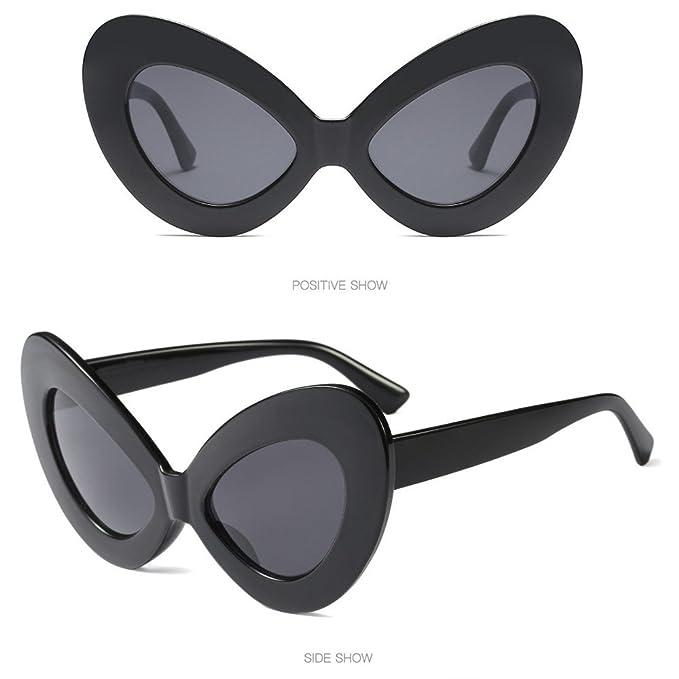 Amazon.com: 2DXuixsh Gafas de sol para mujer, diseño de ojo ...