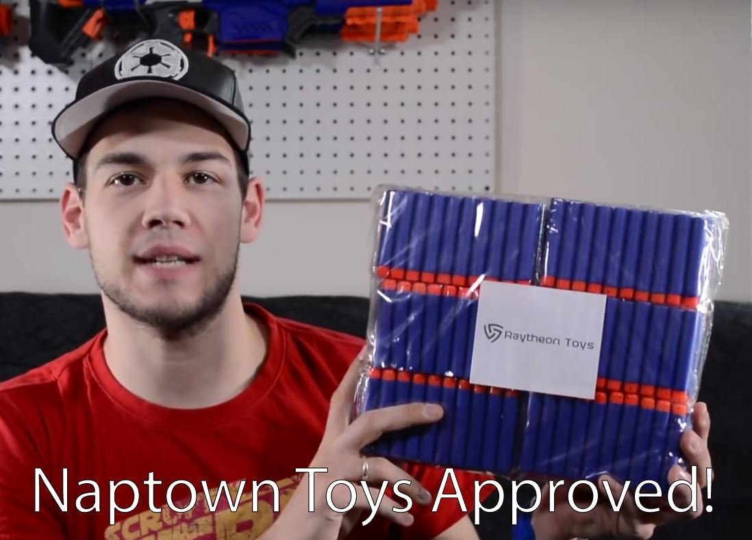 300 Pack, Nerf Compatible Foam Toy Darts by Ray Squad, Premium Refill Bullets for N-Strike Elite Guns, Universal Dart Ammo Pack, Firm and Safe Nerf Gun Compatible Bullet Accessories by RAY SQUAD (Image #8)