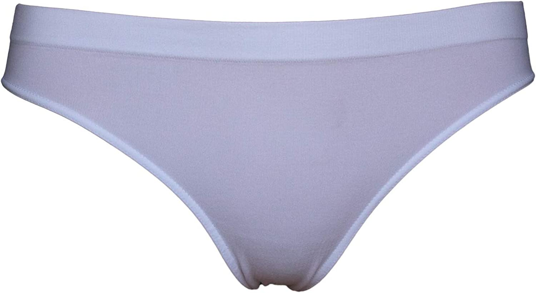 SENSI Slip Donna Vita Bassa Intimo Microfibra Traspirante Tassello Cotone Senza Cuciture Seamless Made in Italy