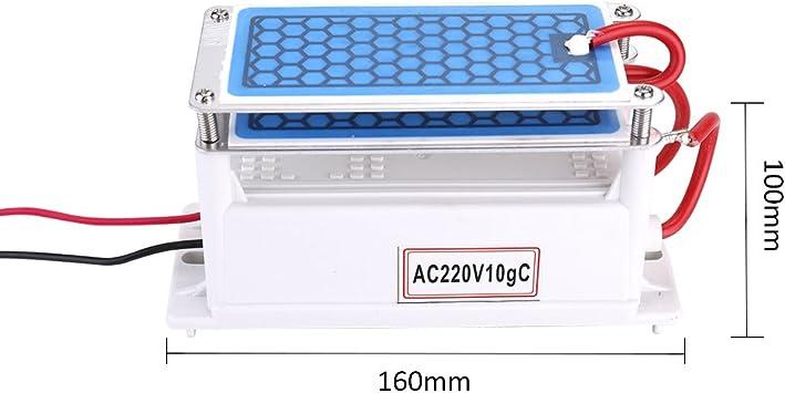 generador de ozono cerámica portatil, Purificador de aire integrado ...