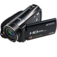 ORDRO HD Camcorder 16X Digital Zoom 1080P Video Camera with Remote Control (HDV-V7)