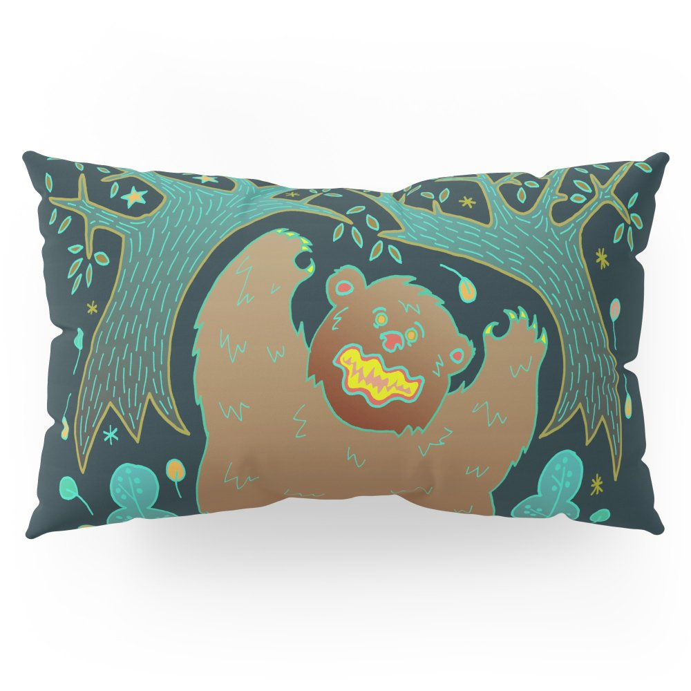 Society6 Bear In The Woods Pillow Sham King (20'' x 36'') Set of 2