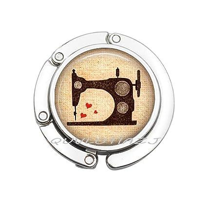 Moda máquina de coser joyería Seamestro Love to Sew Art Bag ...