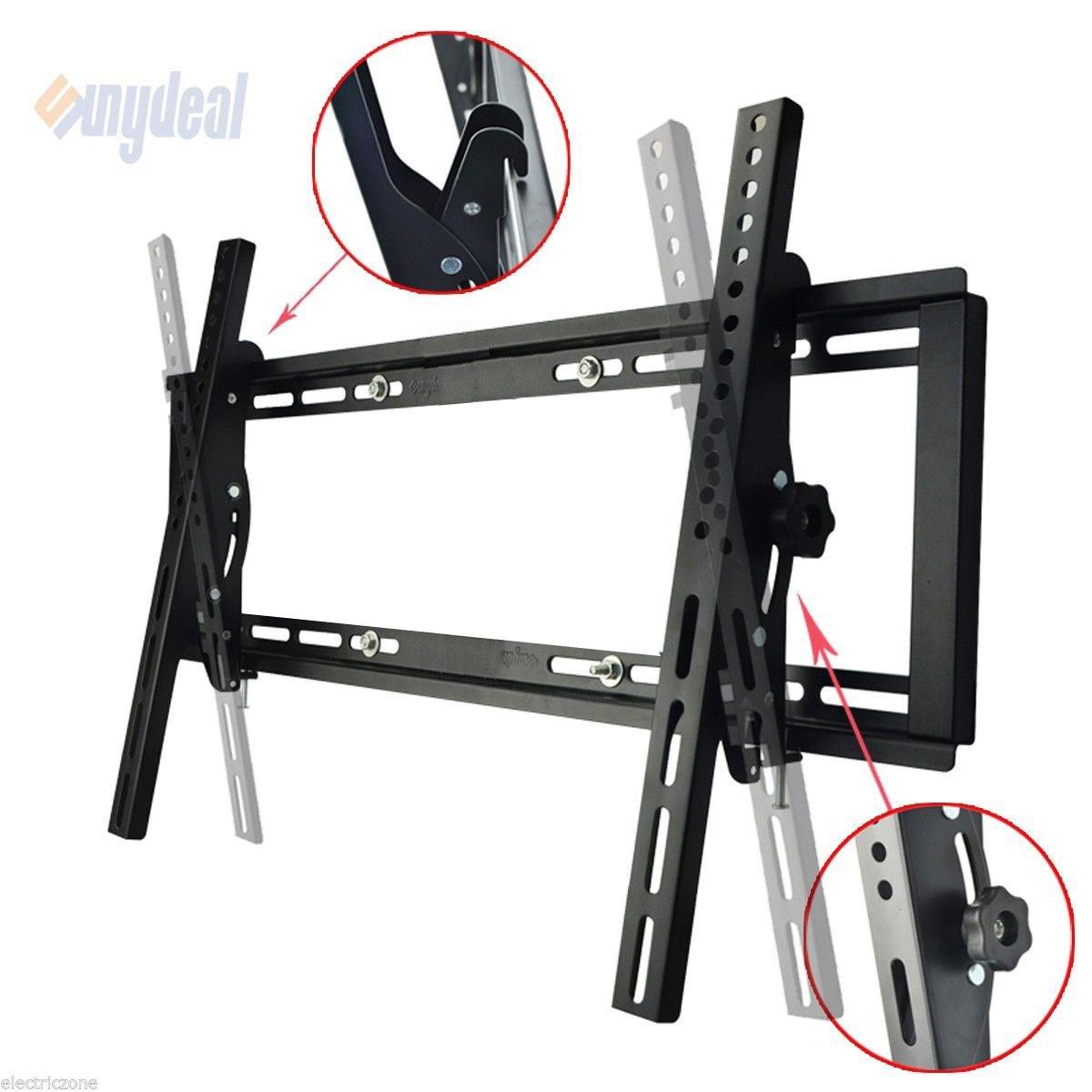 7c6d984666e Sunydeal Tilt TV Wall Mount Bracket for Most 22 - 65 inch Vizio Samsung  Sony LG TCL Sharp AQUOS LCD LED Plasma TV