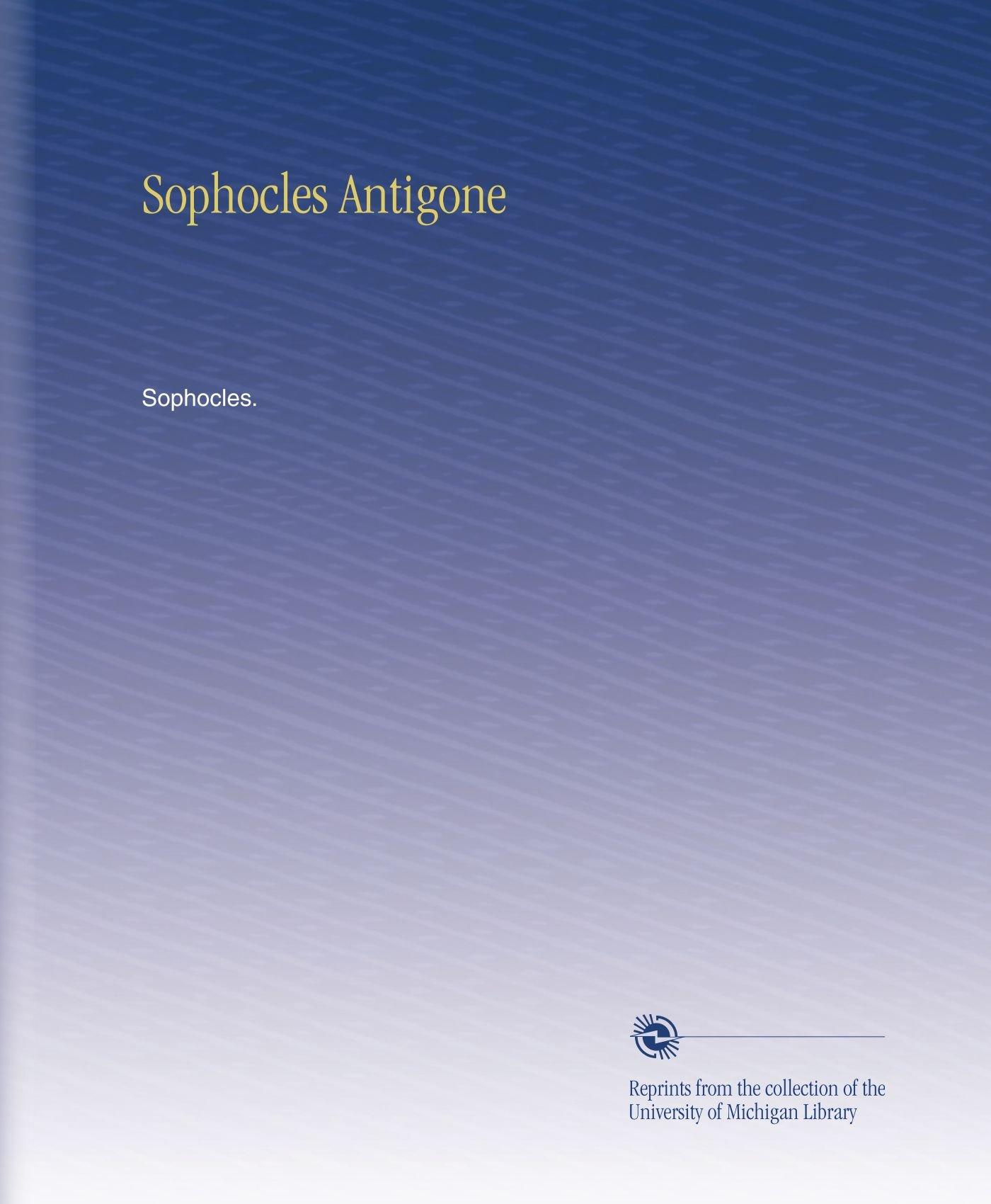 Sophocles Antigone pdf epub