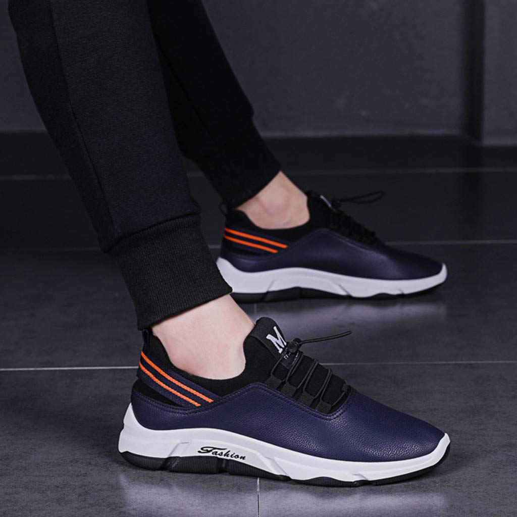 Nebwe Shoes Mens Sneakers Ultra Lightweight Breathable Mesh Street Sport Gym Running Walking Shoes