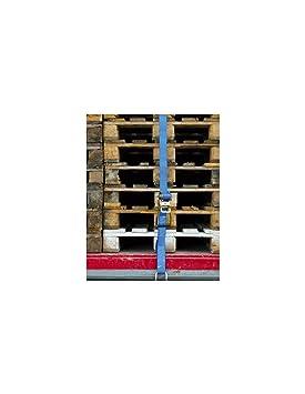 50 mm x L Murtra Murtra Sangle darrimage crochets /écart/és /à cliquet 4 T x l 18 M en Polyester NP4000-63-18