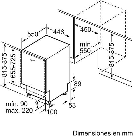 Balay 3VT532XA lavavajilla Totalmente integrado 10 cubiertos A+ ...