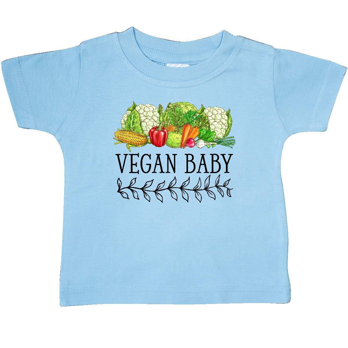 inktastic Vegan Baby Vegetables Baby T-Shirt