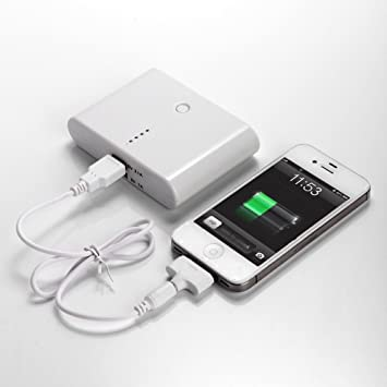 Amazon.com: Nuevo 12000 mAh USB Power Bank Cargador de ...