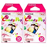 Fujifilm Instax Candy Pop Instant Film 2 Pack For Mini 8 Cameras 20 Sheets