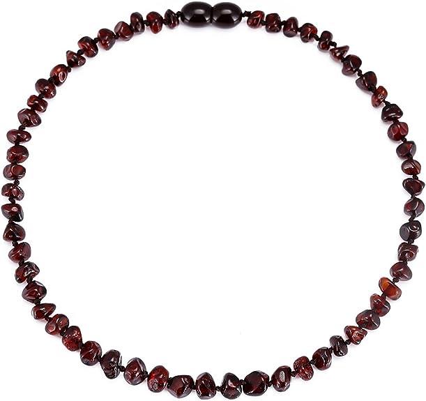 Image of Cici's Story Collar de Ambar(Unisex) - 3 tamaños - 4 Colores Certificado Ámbar El Collar auténtico báltico