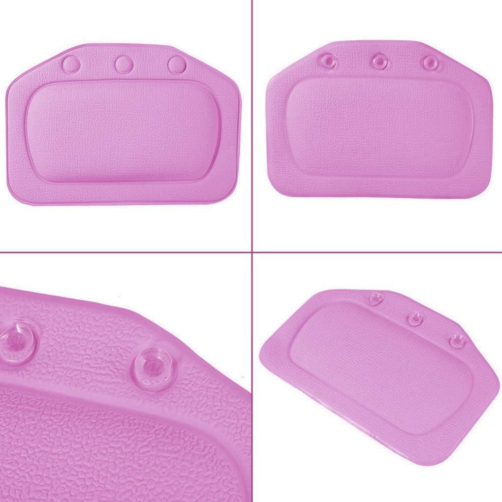 Regard Morbido Vasca Cuscino poggiatesta Ammortizzatore Impermeabile Morbida Vasca da Bagno PVC Cuscino Ventose Capo Resto del Collo Cuscini