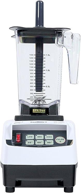 Licuadora batidora Pro Omniblend 5 laitTM, para leche, 1,5 litros ...