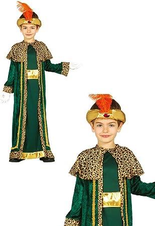 Disfraz de Rey Baltasar infantil 3-4 años: Amazon.es: Juguetes y ...