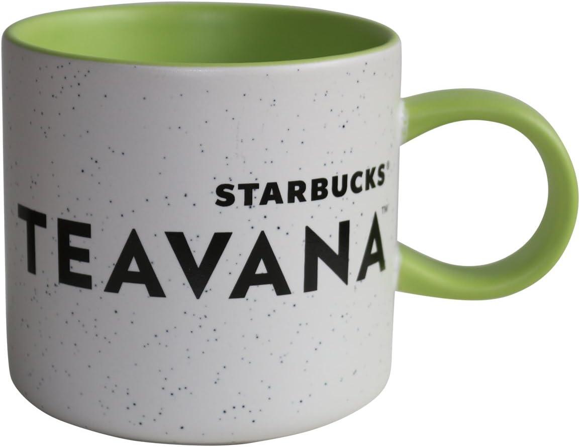 Starbucks taza Teavana verde con puntos blancos limitada taza: Amazon.es: Hogar