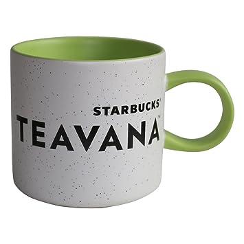 Limitée Mug Thé Tasse Teavana À Moucheté Starbucks Vert IYf6vyb7g