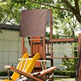 TOPINCN Outdoor Swing Cover Kids Playground Roof