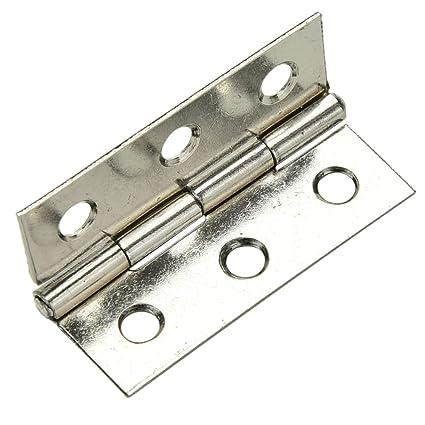Door Hinges - 10 Set Stainless Steel Cabinet Door Hinge 6