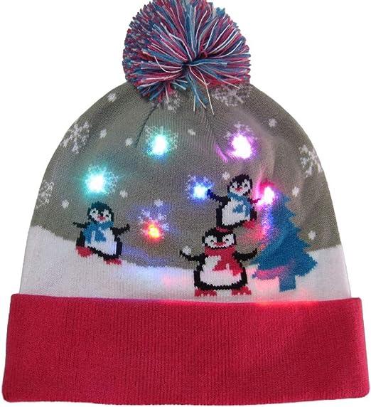 Saihui_Christmas Decorations - Gorro de Navidad para Adultos y ...