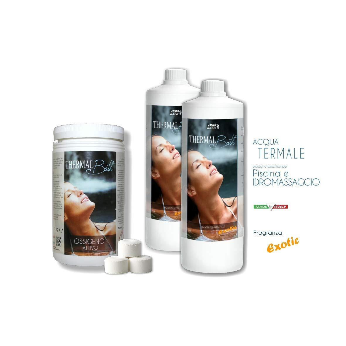 Thermal Bath oxígeno activo 1 kg. de pastillas de 20 gr. y agua ...