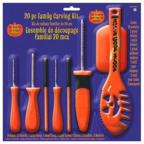 Family Pumpkin Carving Kit -