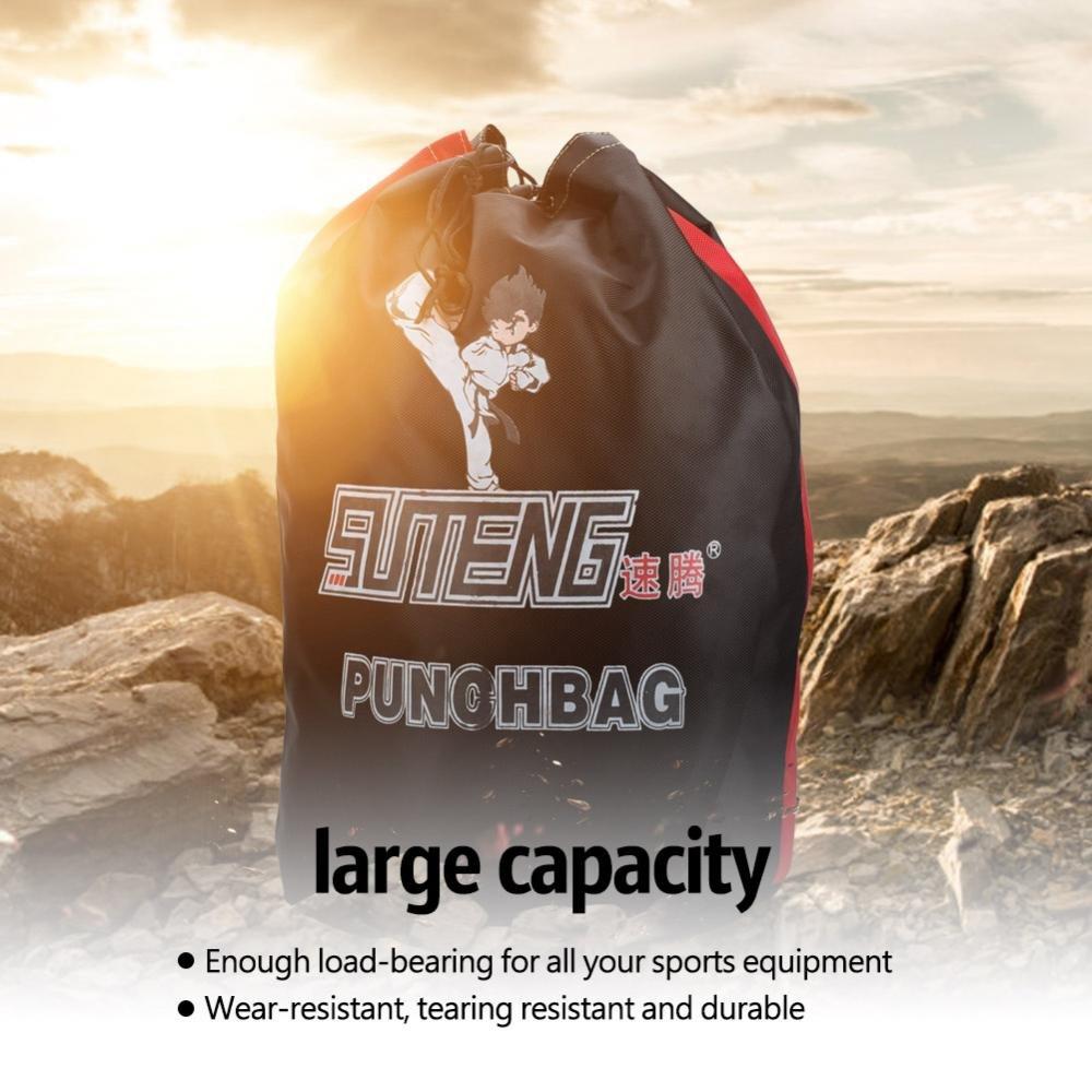 Sports Boxing Sanda Rope Bag Taekwondo Training Shoulders Storage Backpack for Men and Women