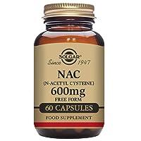 Solgar NAC (N-Acetyl-L-Cysteine) 600 mg Vegetable Capsules - Pack of 60