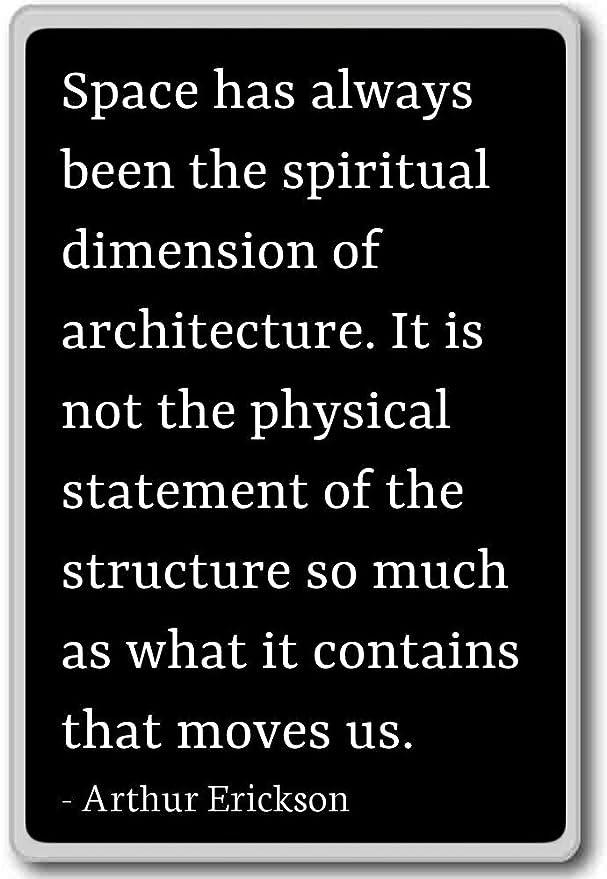 Space ha sido siempre la dimensión espiritual - Imán para nevera ...