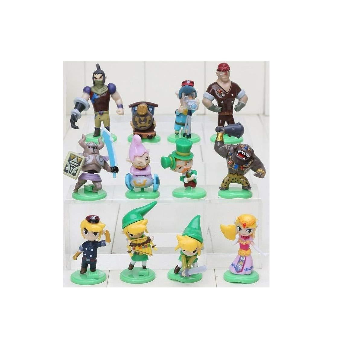 Amazon.com: Love Gift Legendary Videogame Link 12 Figures ...