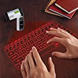 atongm Ultra-Portable Full-Size Qwerty Laser Projection Virtual Bluetooth Keyboard for Android iOS OS Phone Tablet PC Laptop