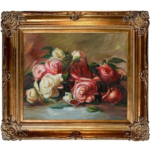 OverstockArt Renoir Discarded Roses with Renaissance Bronze Frame by overstockArt
