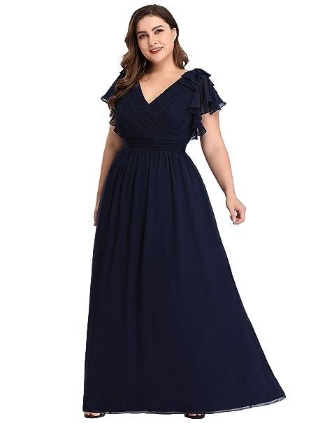 Alisapan Womens Long Formal Evening Prom Dresses Chiffon ...