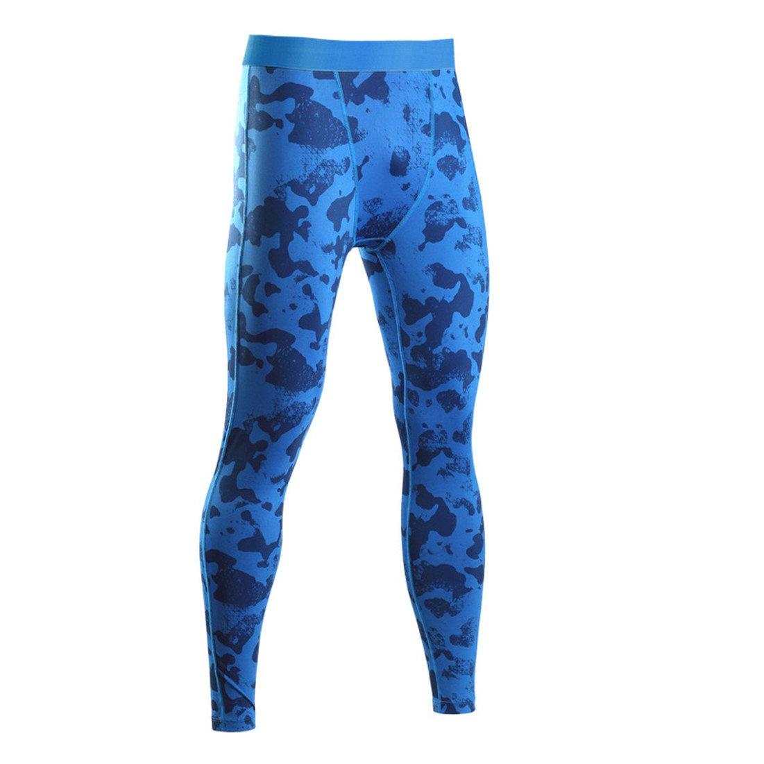 Panta jogging lunghi per uomo con effetto compressivo e funzione Quick Dry HDH