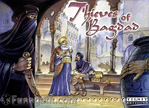 Thieves of Bagdad Board Gams Tilsit Editions