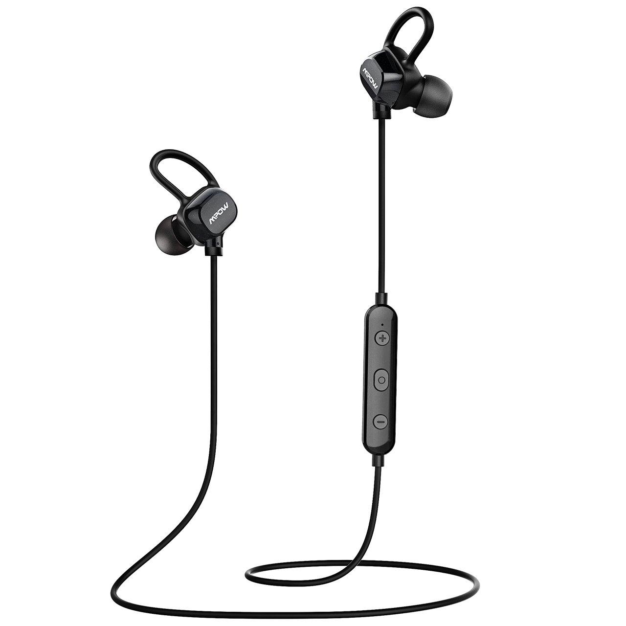 Mpow Bluetooth Headphones Wireless Earbuds Sport Running Upgraded IPX5 Splash Proof Stereo Mini