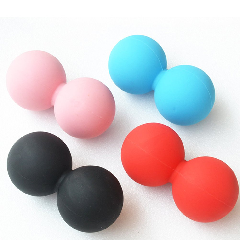 WINOMO Massage Peanut Ball Trigger Point Body Muscle Stress Relief for Myofascial Release