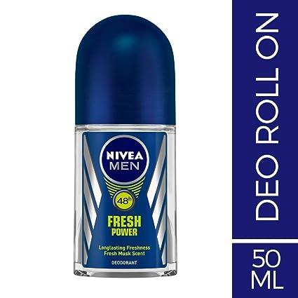 Nivea Men Fresh Power Roll On Deodorant, 50ml