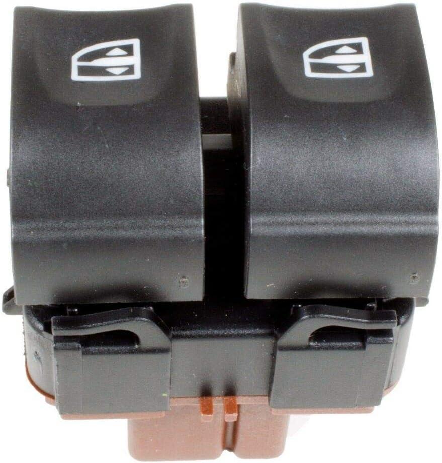 FFTH Interrupteur de vitre /électrique pour Renault Clio 4 Captur Lumi/ère Blanche Compatible avec Oe 254113300R