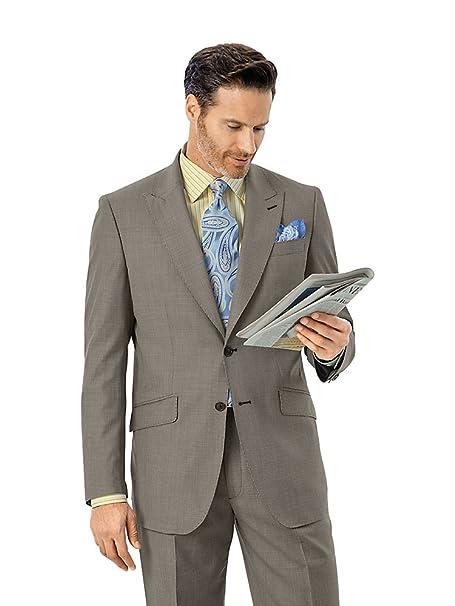 Amazon.com: Paul Fredrick hombre italiano Super 100S lana ...