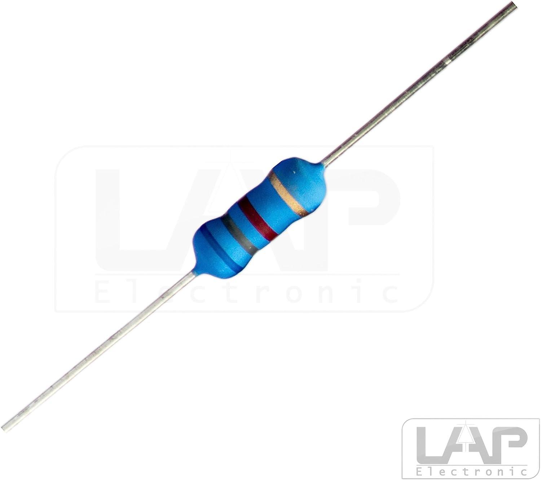 10x 18 K Ohm 5/% 2 Watt Metalloxidwiderstand Widerstand 2W MOX Widerst/ände Hochlast